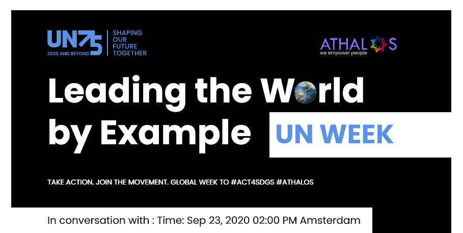 Leading the World by Example : UN Week
